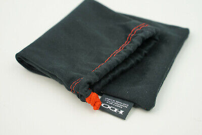 OAKLEY BLACK/RED Microfiber Case Soft Pouch Cleaning Bag-Ducati RARE Ferrari