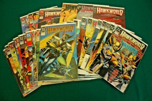 Hawkworld #1-32 + Annuals 1-3 + Graphic Novel 1-3 DC 1990