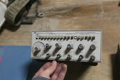 Hewlett Packard 3312a Function Generator Working