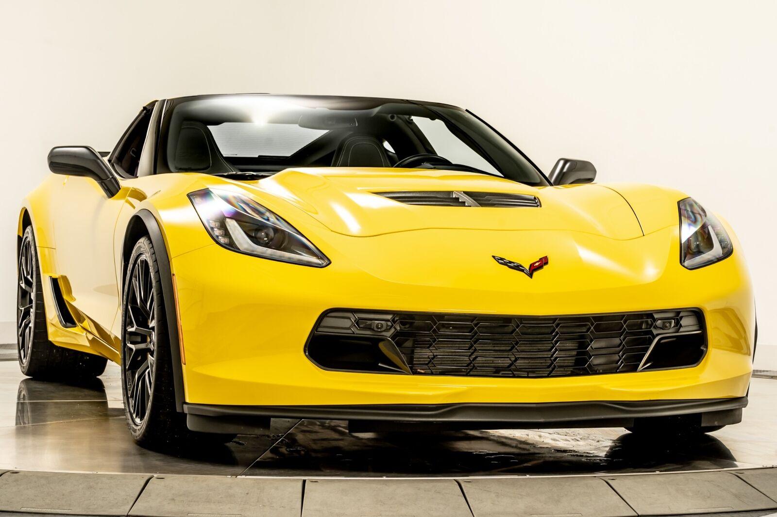 2016 Yellow Chevrolet Corvette Z06  | C7 Corvette Photo 2