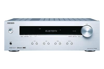 Onkyo Stereo Receiver, TX-8220-S, Hifi Verstärker 100 Watt/Kanal