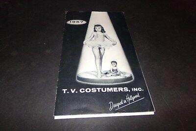 Vintage T.V. Costumers Ballet Costumes Dance Wear Ballerina Dutch Girl  1957](Vintage Ballet Costumes)