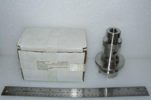 Microfluidics 10.3160 REV. E Coupler Liquid End M700 Microfluidizer