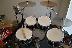 Pearl ePro Live Electric / Acoustic Drum Kit Bundle with Hardware Templestowe Manningham Area Preview