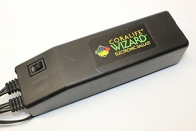 Coralife Wizard Electronic Ballast For Fluorescent Lamp Lighting Parts