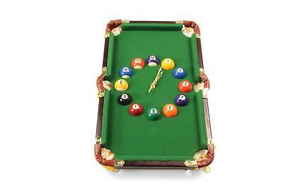 Jonny 8 Ball Novelty Pool Snooker BILLIARD TABLE Analogue Wall Clock