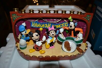 Disney Hanukah Concert Hanukkah Menorah (Very Hard to Find) Brand New In Box](Make Menorah)