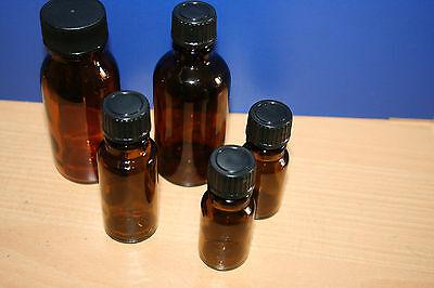 Apotheker Braunglas (2 x Braunglasflaschen Apothekerflaschen Glasflasche ab 10ml bis 100ml 10 100 ml)