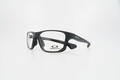 Oakley Men's Crosslink Fit Satin Pavement Glasses w/ Case OX 8136M-03 53mm