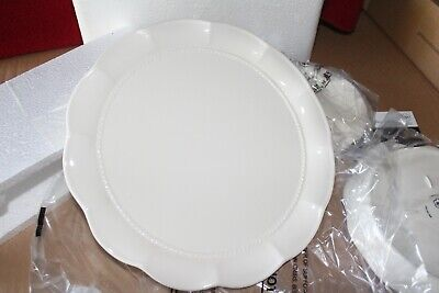 L 1714 Princess House Marbella Stoneware Serving Plates 3 sizes NIB