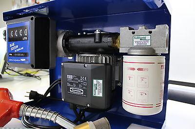 230 V Dieselpumpe Filteranlage Dieselfilter Tankstelle Diesel Reinigungsanlagen