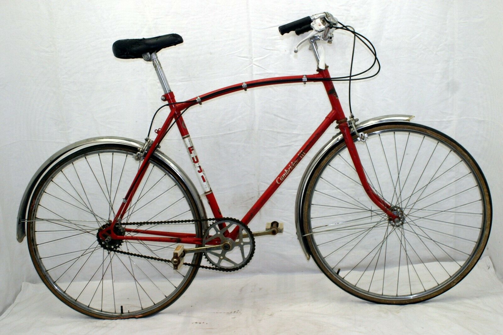 Dunelt Vintage Cruiser Bike Medium Sturmey Archer 3 speed British Steel Charity!