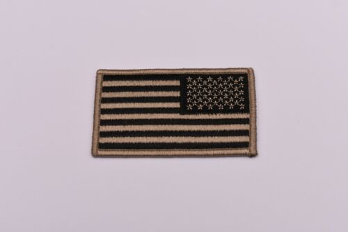 """Collectible Reverse Flag Subdued Patch 2"""" x 3 3/8"""""""