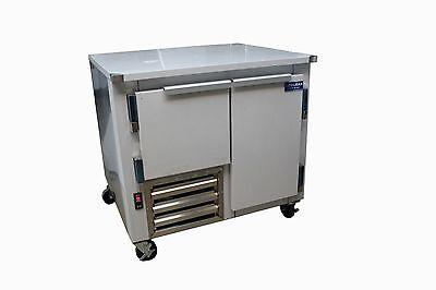 Coolman Commercial 1-12 Door Low Boy Worktop Freezer 36