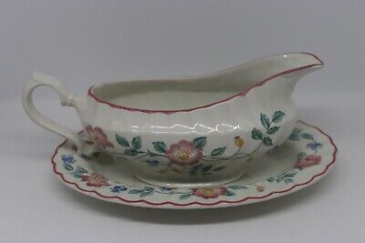 Churchill The Chartwell Collection BRIAR ROSE Gravy Boat & -