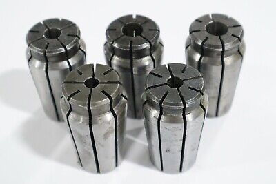5 Pcs Universal Acura-flex Collets For 1 Capacity Collet Chuck  C531