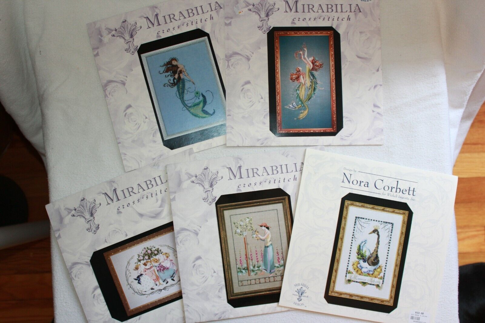 Mirabilia Designs Cross Stitch Charts by Nora Corbett