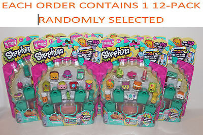Shopkins Season 3, Set of 6 12-packs, Styles as Pictured