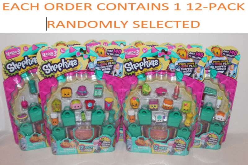 SHOPKINS Season 3 12-Pack Possible Special/Limited/Edition/Jewels/blind bags NEW