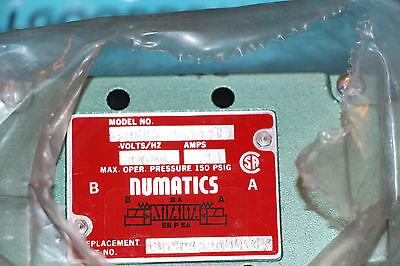 Numatics 33dsp500030 Pneumatic Solenoid Valve 33dsp5000000030 New