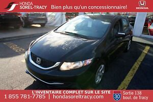 Honda Civic LX + SIÈGES CHAUFFANTS + BLUETOOTH + CRUISE CONTROL