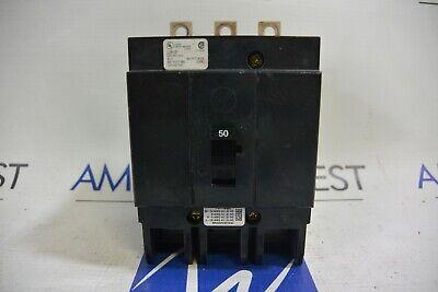 Cutler Hammer Ghb3050 50 Amp 480277v 3p Bolt On Circuit Breaker - Tested