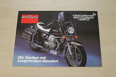 Moto Guzzi California 1000 Prospekt 199? 167744 Parts & Accessories