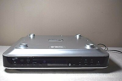 - ILIVE Bluetooth CD Radio Under-Cabinet Music System Model IKBC384S Clock