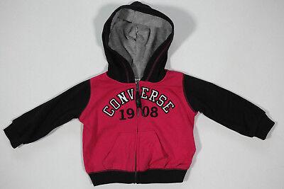 All Star Converse Mädchen Sport Kapuzenpullover Hoodie Sweatshirt Jacke Gr.3-6M  Mädchen Converse Hoodie