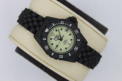 Pre Tag Heuer 980.030 PVD Black White RARE 1000 Watch Womens Rare MINT Crystal