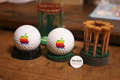 Very Rare Apple Rainbow Golf ball TOP FLITE Macintosh Computer Novelty Promo