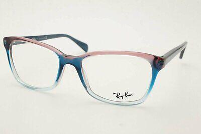 Ray Ban RB 5362 5834 Blue Pink Clear Women Eyeglasses 54-17-140 (Pink Eye Glasses)