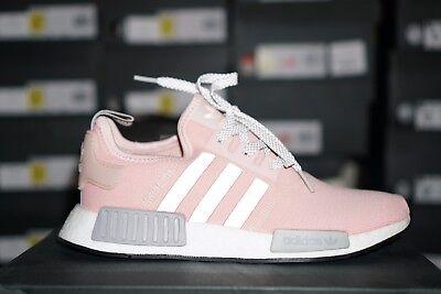 c6ef4e8b7 Adidas NMD R1 BY3059 Womens RARE Vapor Pink Grey Onyx Boost limited