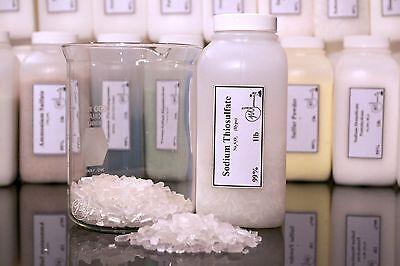 Sodium Thiosulfate Pentahydrate 99 Pure Min. 1 X 1lb Bottle
