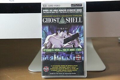 Ghost in the Shell (UMD, 2005) anime, classic, Manga video, PSP, Unrated