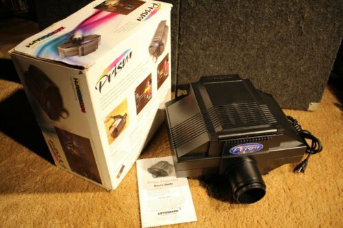 Artograph Prism image projector with lens 200-705 great condition box & guide