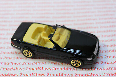 1996 Hot Wheels PACKAGE PULL black FAO SCHWARZ gold series III MERCEDES 500 -
