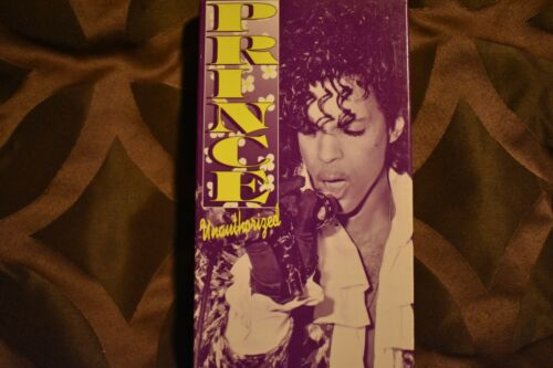 PRINCE UNAUTHORIZED VHS VIDEO TAPE