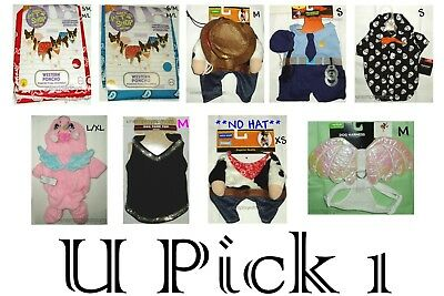 Halloween Pet Costume Dog Dress up Outfits Clothes Cat Pets Cosplay New Boy Girl