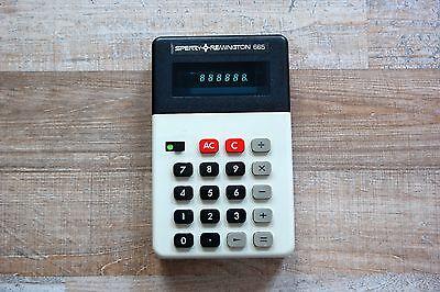 SPERRY REMINGTON 665 vintage calculator - MINT