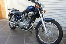 As New 2013 Yamaha Virago 250 with only 221km Sulphur Creek Central Coast Preview