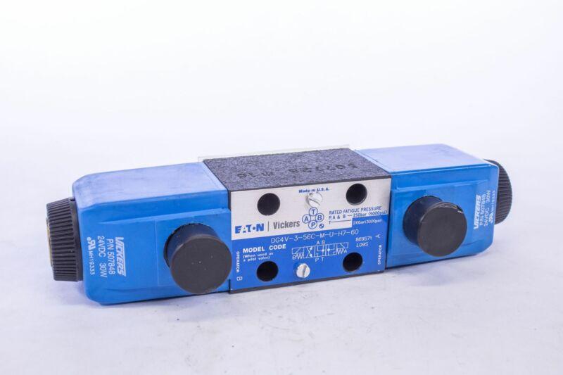 Eaton Vickers DG4V-3-56C-M-U-H7-60 Directional Control Valve