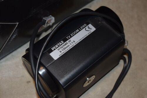Pentax Hoya Motorized Zoom Lens CCTV 8-120mm 1:1.6 H15ZAME-5F