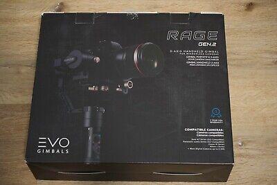 EVO Rage Gen2 Handheld Gimbal Stabilizer for Mirrorless Cameras