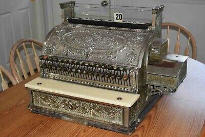 Antique NATIONAL CASH REGISTER FOR RESTORATION MODEL #1024617  356-G - Local P/U