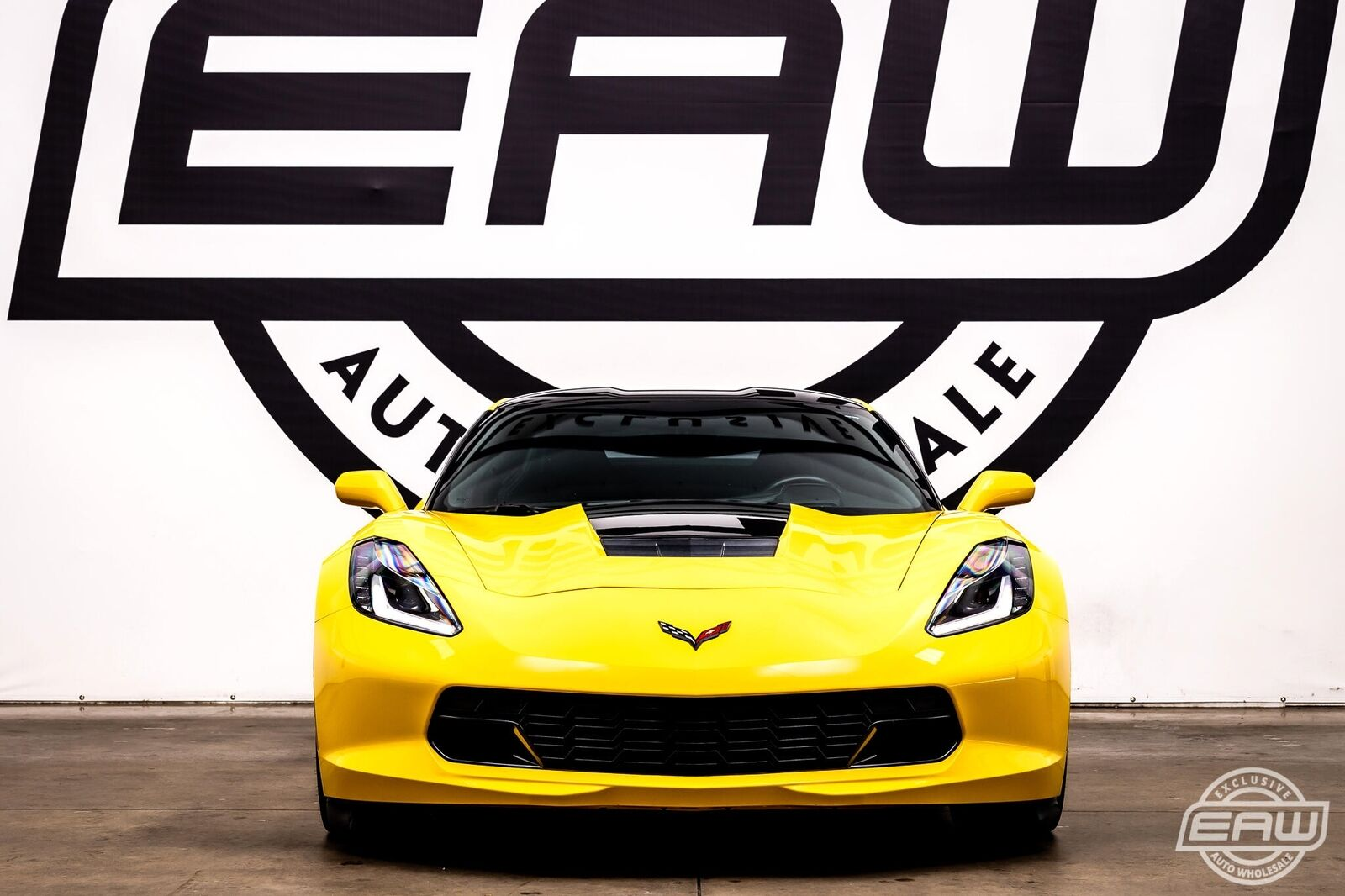 2014 Yellow Chevrolet Corvette Coupe 2LT   C7 Corvette Photo 3