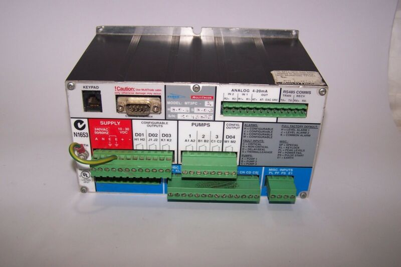 Multitrode Mt3pc-2 Duplex Pump Controller
