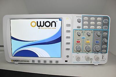 Low Noise Owon 100mhz Oscilloscope Sds7102 1gs Large 8 Lcd Lanvgabattery Usa