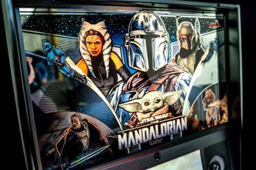 STERN MANDALORIAN LIMITED EDITION LE PINBALL MACHINE 2021 SHIPS MID JUNE