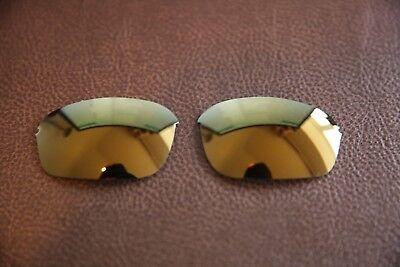 PolarLens POLARIZED 24k Gold Replacement Lens for-Oakley Half Wire 2.0, usado comprar usado  Enviando para Brazil
